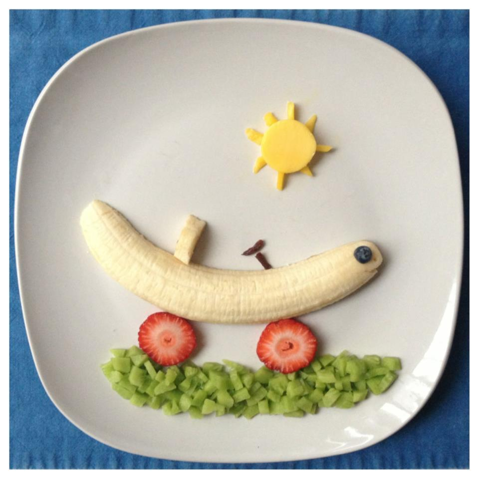 Food Art Ideas For Toddlers